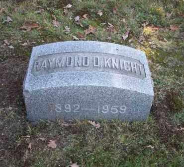 KNIGHT, RAYMOND D. - Columbiana County, Ohio | RAYMOND D. KNIGHT - Ohio Gravestone Photos