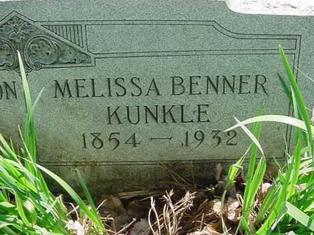 KUNKLE, MELISSA - Columbiana County, Ohio | MELISSA KUNKLE - Ohio Gravestone Photos
