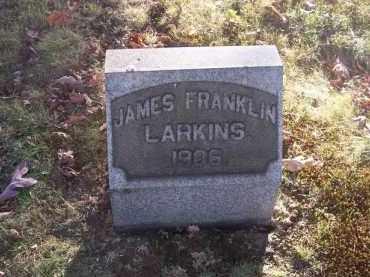 LARKINS, JAMES FRANKLIN - Columbiana County, Ohio | JAMES FRANKLIN LARKINS - Ohio Gravestone Photos