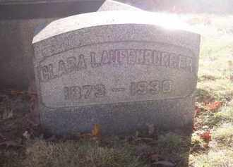 LAUFENBURGER, CLARA - Columbiana County, Ohio | CLARA LAUFENBURGER - Ohio Gravestone Photos