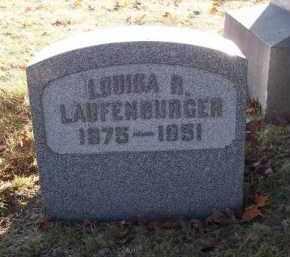 LAUFENBURGER, LOUISA B. - Columbiana County, Ohio | LOUISA B. LAUFENBURGER - Ohio Gravestone Photos