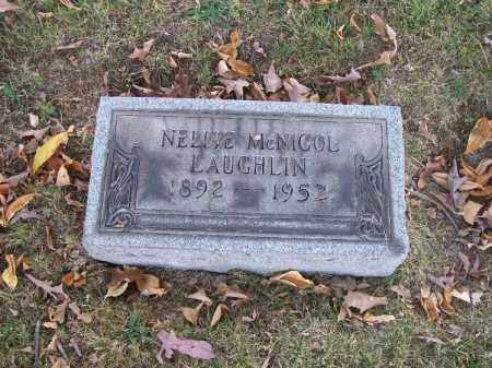 MCNICOL LAUGHLIN, NELLIE - Columbiana County, Ohio | NELLIE MCNICOL LAUGHLIN - Ohio Gravestone Photos