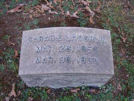 LAUGHLIN, SARAH E. - Columbiana County, Ohio | SARAH E. LAUGHLIN - Ohio Gravestone Photos
