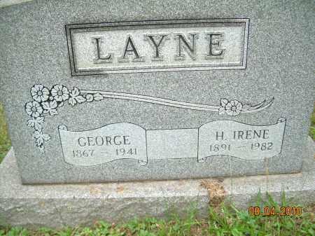 LAYNE, H. IRENE - Columbiana County, Ohio | H. IRENE LAYNE - Ohio Gravestone Photos