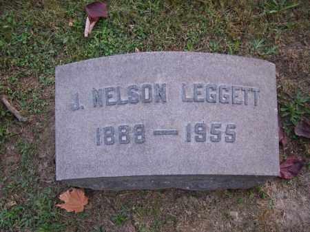 LEGGETT, J. NELSON - Columbiana County, Ohio | J. NELSON LEGGETT - Ohio Gravestone Photos