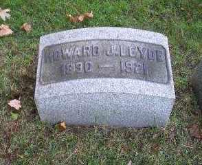 LEYDE, HOWARD J. - Columbiana County, Ohio | HOWARD J. LEYDE - Ohio Gravestone Photos