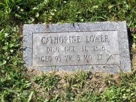 LOWER, CATHERINE - Columbiana County, Ohio | CATHERINE LOWER - Ohio Gravestone Photos