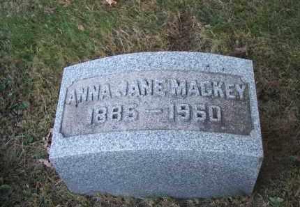 MACKEY, ANNA JANE - Columbiana County, Ohio | ANNA JANE MACKEY - Ohio Gravestone Photos