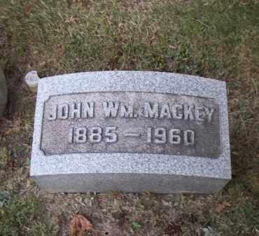 MACKEY, JOHN WM. - Columbiana County, Ohio   JOHN WM. MACKEY - Ohio Gravestone Photos
