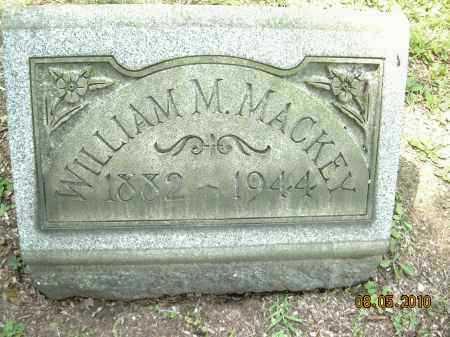 MACKEY, WILLIAM M - Columbiana County, Ohio | WILLIAM M MACKEY - Ohio Gravestone Photos