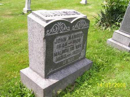 MANGUS, JOHN - Columbiana County, Ohio | JOHN MANGUS - Ohio Gravestone Photos