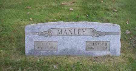 MANLEY, C. ELIZABETH - Columbiana County, Ohio | C. ELIZABETH MANLEY - Ohio Gravestone Photos