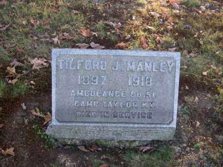 MANLEY, TILFORD J. - Columbiana County, Ohio | TILFORD J. MANLEY - Ohio Gravestone Photos