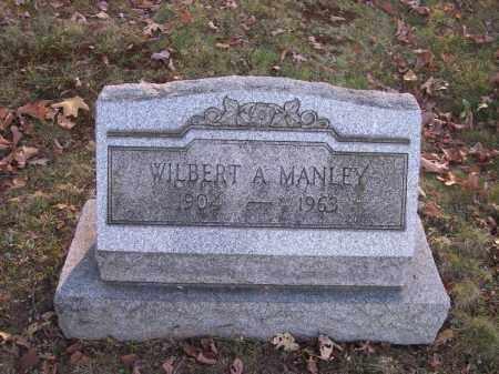 MANLEY, WILBERT A. - Columbiana County, Ohio | WILBERT A. MANLEY - Ohio Gravestone Photos