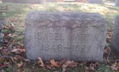 MARTIN, ISABEL - Columbiana County, Ohio | ISABEL MARTIN - Ohio Gravestone Photos