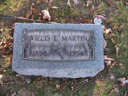 MARTIN, WILLIS E. - Columbiana County, Ohio | WILLIS E. MARTIN - Ohio Gravestone Photos