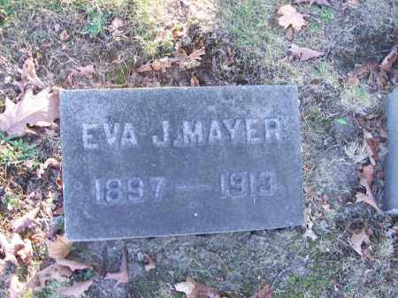 MAYER, EVA J. - Columbiana County, Ohio | EVA J. MAYER - Ohio Gravestone Photos