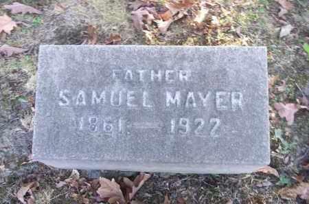 MAYER, SAMUEL - Columbiana County, Ohio   SAMUEL MAYER - Ohio Gravestone Photos