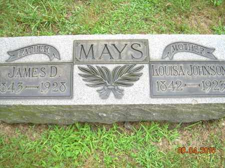MAYS, JAMES D - Columbiana County, Ohio | JAMES D MAYS - Ohio Gravestone Photos