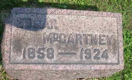 MCCARTNEY, EDGAR - Columbiana County, Ohio   EDGAR MCCARTNEY - Ohio Gravestone Photos