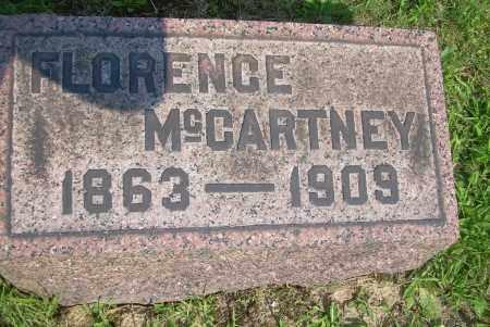 MCCARTNEY, FLORENCE - Columbiana County, Ohio | FLORENCE MCCARTNEY - Ohio Gravestone Photos