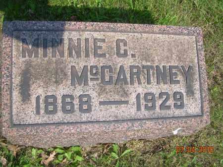 MCCARTNEY, MINNIE C. - Columbiana County, Ohio | MINNIE C. MCCARTNEY - Ohio Gravestone Photos