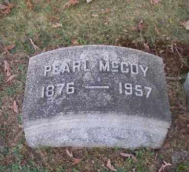MCCOY, PEARL - Columbiana County, Ohio   PEARL MCCOY - Ohio Gravestone Photos