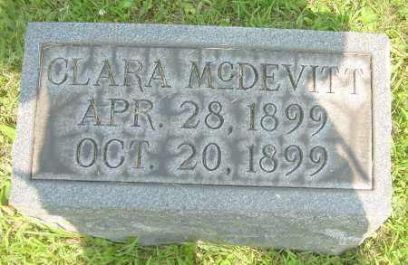 MCDEVITT, CLARA - Columbiana County, Ohio | CLARA MCDEVITT - Ohio Gravestone Photos