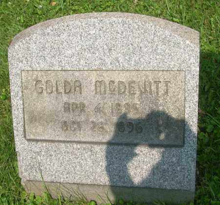 MCDEVITT, GOLDA - Columbiana County, Ohio   GOLDA MCDEVITT - Ohio Gravestone Photos