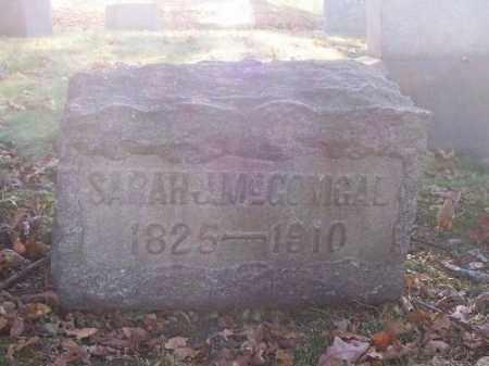 MCGONIGAL, SARAH J. - Columbiana County, Ohio | SARAH J. MCGONIGAL - Ohio Gravestone Photos