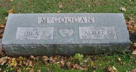 MCGOOGAN, ALBERT CLEMENT - Columbiana County, Ohio | ALBERT CLEMENT MCGOOGAN - Ohio Gravestone Photos