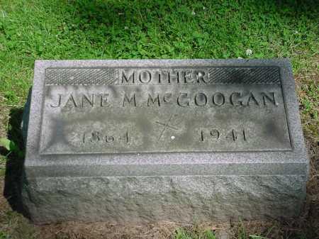 MCGOOGAN, JANE MARY - Columbiana County, Ohio | JANE MARY MCGOOGAN - Ohio Gravestone Photos