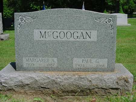 MCGOOGAN, PAUL GEORGE - Columbiana County, Ohio | PAUL GEORGE MCGOOGAN - Ohio Gravestone Photos