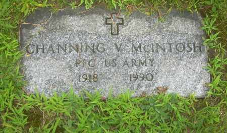 MCINTOSH, CHANNING V - Columbiana County, Ohio | CHANNING V MCINTOSH - Ohio Gravestone Photos