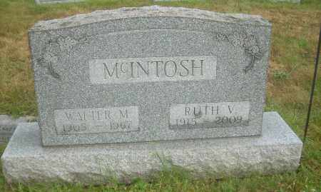 MCINTOSH, WALTER M - Columbiana County, Ohio | WALTER M MCINTOSH - Ohio Gravestone Photos