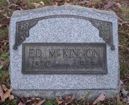 MCKINNON, ED - Columbiana County, Ohio | ED MCKINNON - Ohio Gravestone Photos