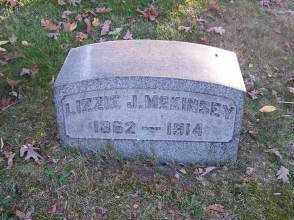 MCKINSEY, LIZZIE J. - Columbiana County, Ohio | LIZZIE J. MCKINSEY - Ohio Gravestone Photos