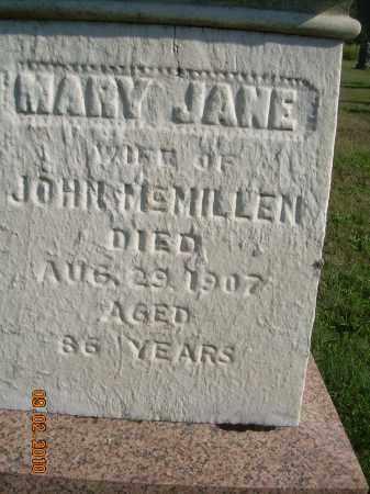 MCMILLEN, MARY JANE - Columbiana County, Ohio | MARY JANE MCMILLEN - Ohio Gravestone Photos