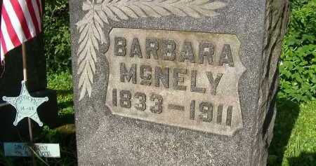 MCNELY, BARBARA - Columbiana County, Ohio | BARBARA MCNELY - Ohio Gravestone Photos