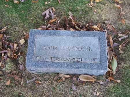 MCNICOL, ANNA E. - Columbiana County, Ohio | ANNA E. MCNICOL - Ohio Gravestone Photos