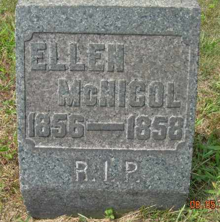 MCNICOL, ELLEN - Columbiana County, Ohio | ELLEN MCNICOL - Ohio Gravestone Photos
