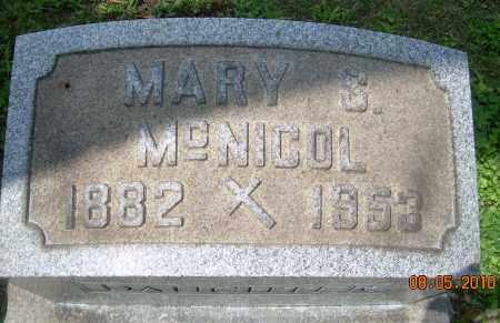 MCNICOL, MARY S - Columbiana County, Ohio   MARY S MCNICOL - Ohio Gravestone Photos
