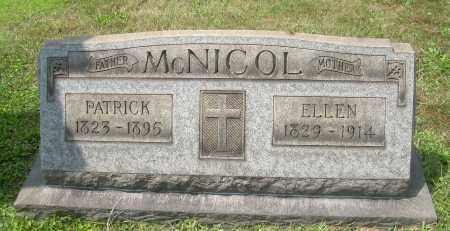 MCNICOL, ELLEN - Columbiana County, Ohio | ELLEN MCNICOL - Ohio Gravestone Photos