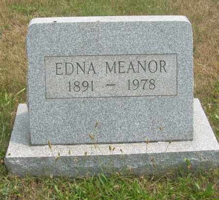 MEANOR, EDNA - Columbiana County, Ohio | EDNA MEANOR - Ohio Gravestone Photos