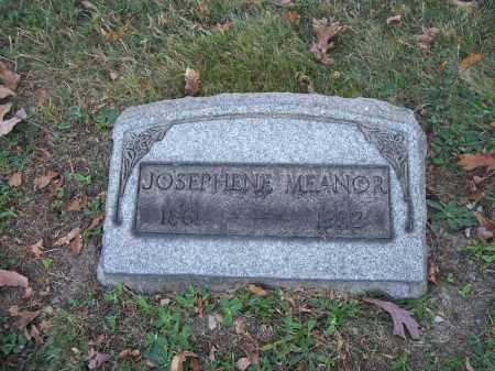 MEANOR, JOSEPHENE - Columbiana County, Ohio   JOSEPHENE MEANOR - Ohio Gravestone Photos