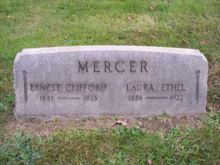 MERCER, ERNEST CLIFFORD - Columbiana County, Ohio | ERNEST CLIFFORD MERCER - Ohio Gravestone Photos