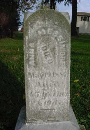 MESSIMORE, ANNA - Columbiana County, Ohio | ANNA MESSIMORE - Ohio Gravestone Photos