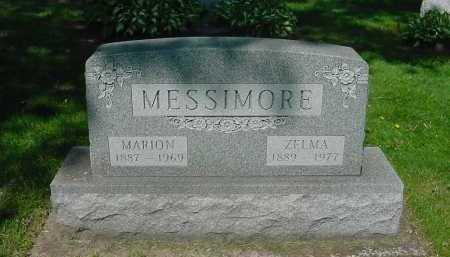 WICKERSHAM MESSIMORE, ZELMA - Columbiana County, Ohio | ZELMA WICKERSHAM MESSIMORE - Ohio Gravestone Photos