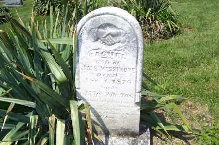 HESTAND MESSIMORE, RACHEL - Columbiana County, Ohio | RACHEL HESTAND MESSIMORE - Ohio Gravestone Photos