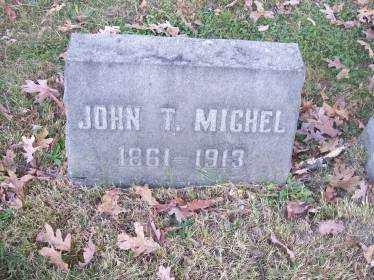 MICHEL, JOHN T. - Columbiana County, Ohio   JOHN T. MICHEL - Ohio Gravestone Photos